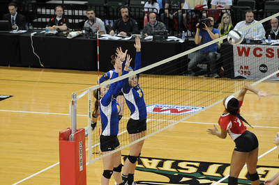 Marion Local Volleyball State Championship Game 2013